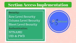 99 Data Security in QlikSense using Section Access - PakVim