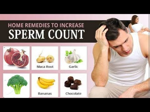 5 Home Remedies to Increase Sperm Count.