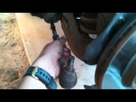 How to tell if your Tie Rod Ends and hub bearing are bad.