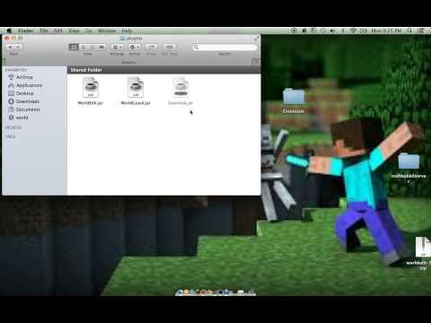 how to install worldedit world guard and essantails