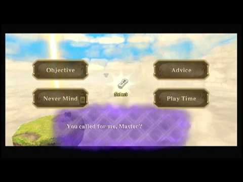 Skyward Sword: Fi Dive