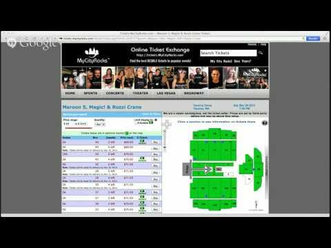 Maroon 5 Tickets Tacoma Dome WA Magic! Rozzi Crane Concert