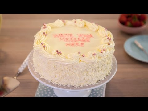 Vanilla Sponge Birthday Cake Recipe - Betty Crocker™