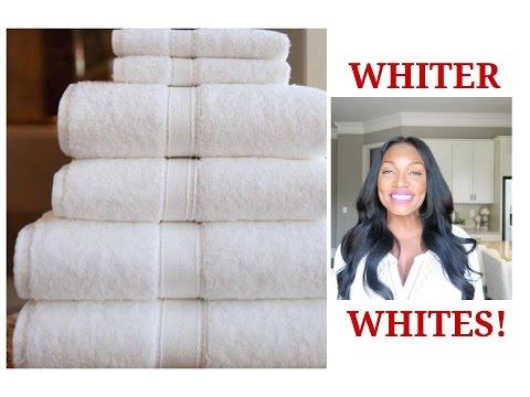 HOW TO EASILY WHITEN~WHITE CLOTHES‼️