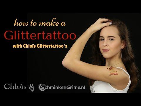 How to make a Glittertattoo