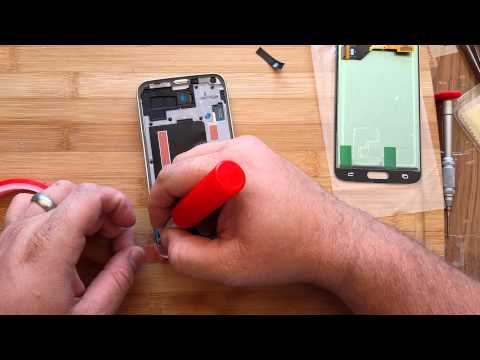 Samsung Galaxy S5 LCD, Button & frame Replacement Tech MD