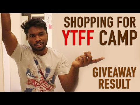 Shopping Time | New Shoes | T Shirt | Giveaway Result