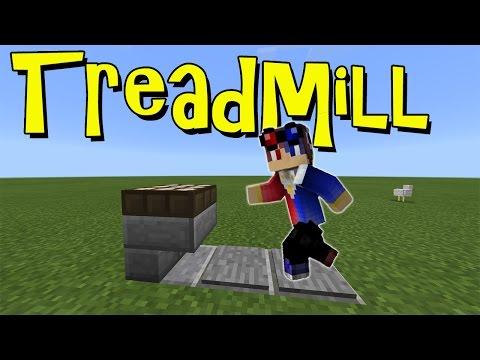 Working TREADMILL !!! No Mod, No Addon   Minecraft PE   MCPE 1.1 Command Block Creation