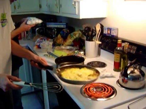 Mercer Flips An Eight Egg Omelet