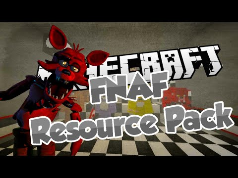 FNAF Resource Pack! - Five Nights At Freddy's Based Texture Pack Showcase & Download (1.8.3)