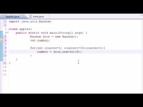 Java Programming Tutorial - 26 - Random Number Generator