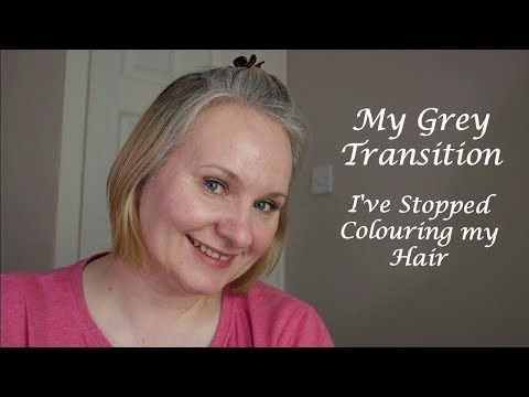 Grey Transition and Not Colouring My Hair