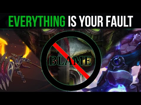 How EVERYTHING Is Your Fault (Mindset To Improve)