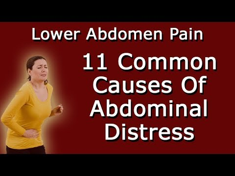 Why Do I Have Lower Abdomen Pain - 11 Common Causes Of Abdominal Distress