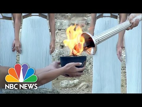 Olympic Torch Relay Begins For The 2018 Pyeongchang Winter Games | NBC News