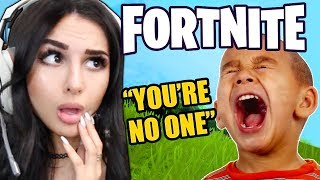 KID IS *MEAN* ON FORTNITE THEN FINDS OUT I