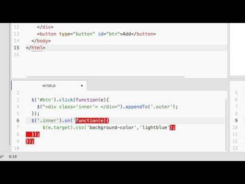 Jquery : How To Add Event Listener To Dynamic Element?