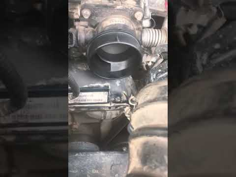 Ford Ranger Throttle body Cleaning