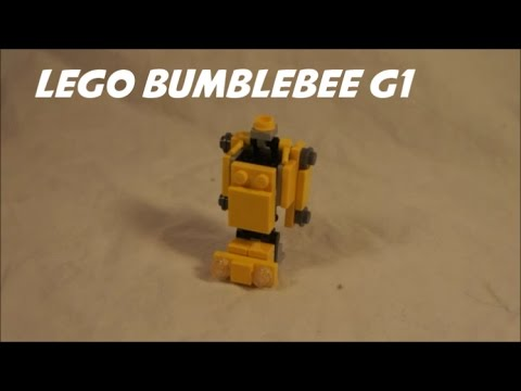 How To Build a Mini Lego G1 Bumblebee