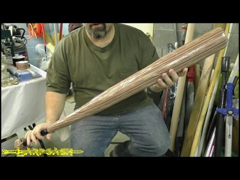 How To Make A Basic Baseball Bat Weapon For Post-Apocalyptic Larp (Pt. 4) - Dystopia Rising