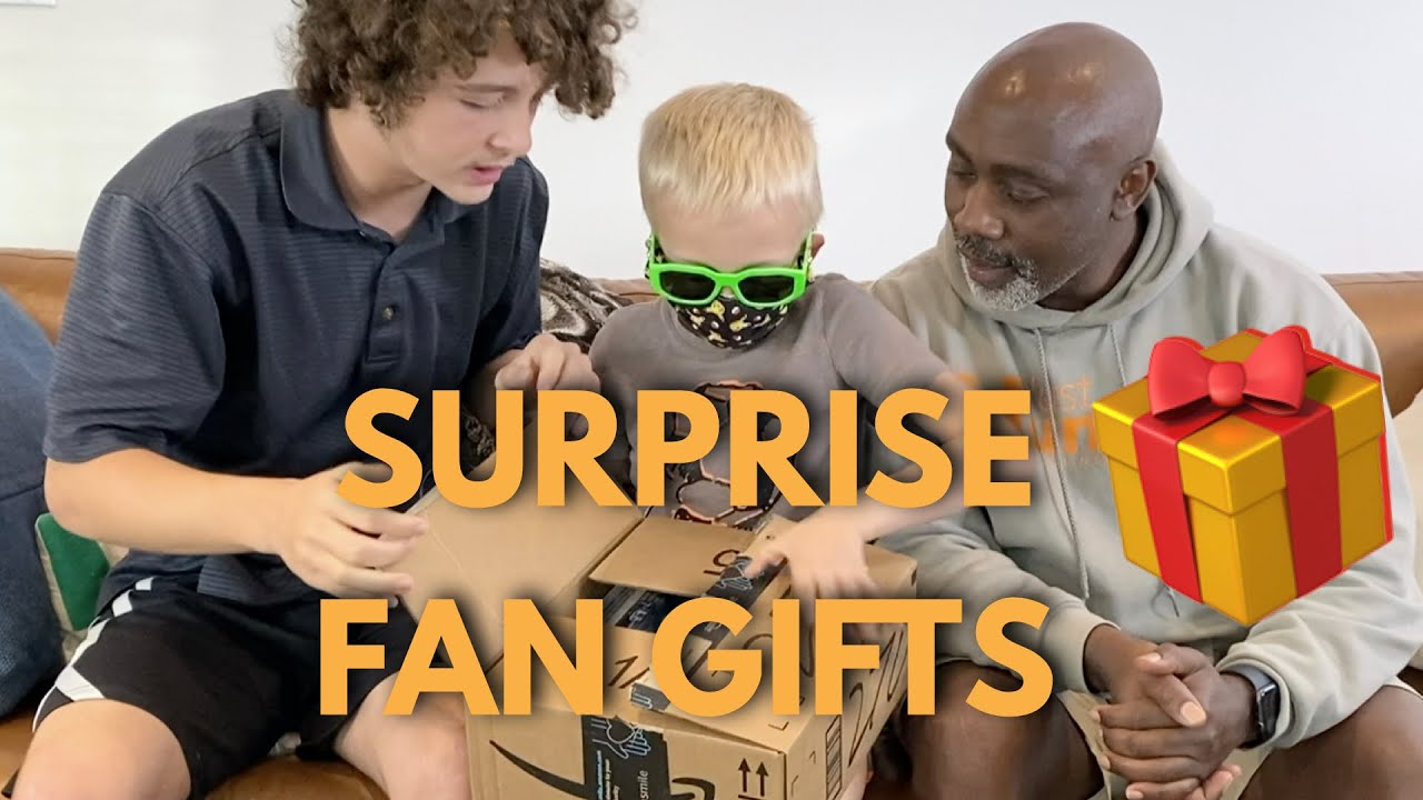OPENING FAN GIFTS   BIRTHDAY SURPRISE PART 2