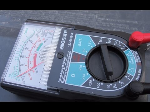 How to Test an Alternator with ordinary multimeter