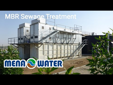 MENA-Water MBR Container Sewage Plant