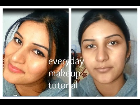 MY EVERYDAY MAKEUP ROUTINE N TUTORIAL FOR INDIAN/BROWN/OLIVE/TAN SKIN TONE affordable and easy