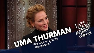 Uma Thurman Risks Stephen