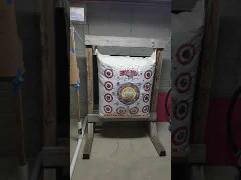 Basement Archery Range
