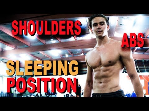 Best Sleeping Position for Pectus + Shoulders & Abs Workout