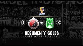 Cúcuta vs Nacional: resumen del partido 1-3 Liga Águila 2019-I