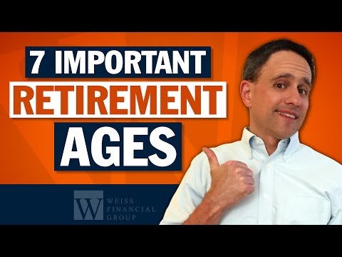 Social Security Age 62, 66, 70 - Medicare Age Start - IRA Age 70 Mandatory Withdrawal (IRA RMD)
