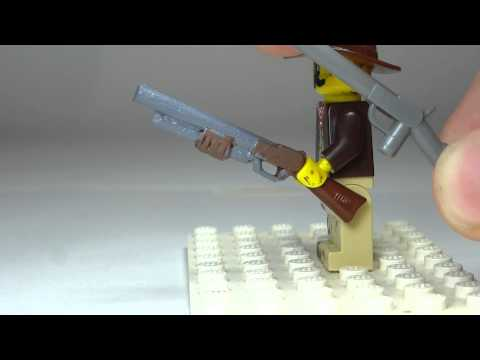 3 AWESOME Custom Guns You Can make From A Lego Rifle
