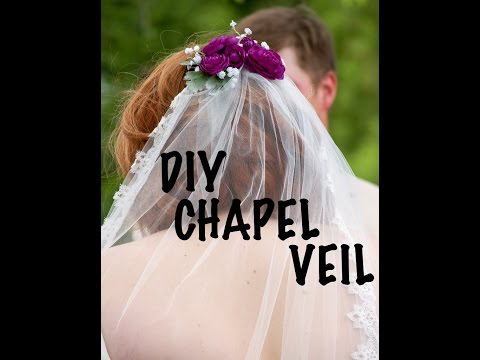 DIY Wedding Veil (Chapel Length) - DIY by Fran