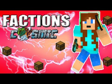 COOL NEW SPAWN AND WARPS + ENVOYS | COSMICPVP FACTIONS S2 #1