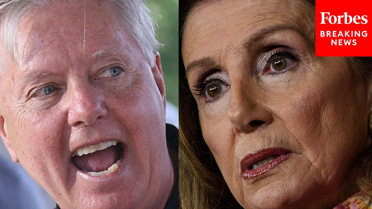 JUST IN: Lindsey Graham shreds Pelosi, Biden over 'For the People Act'