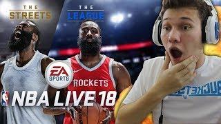 OMG NBA LIVE 18!!!