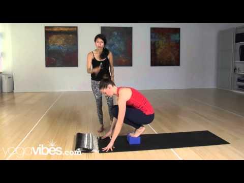 How to do Crow Pose or Bakasana - Beginner Friendly