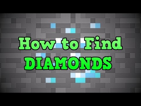 Minecraft PS3 - How To Find Diamonds (Best Way Tutorial)