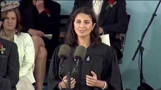 Undergraduate Speaker Sarah Abushaar   Harvard Commencement 2014