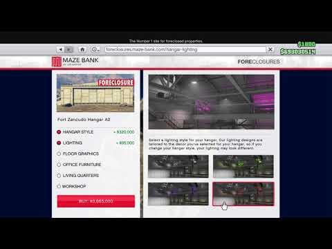 How to buy hangar (GTA 5 Online)