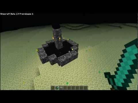 Minecraft 1.9 Pre-Release 6 How to Collect the Enderdragon Egg