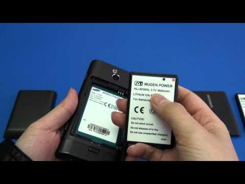 Samsung Omina 7 3600mAh Mugen Power extended battery [HLI-i8700XL]