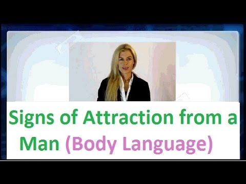 ★ Body Language: Signs of Attraction from a Man -► How to Tell if a Man is Attracted to You