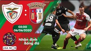 Nhận định, soi kèo Santa Clara vs Braga 02h00 ngày 06/06 - Vòng 25 - Liga Nos 2019/2020