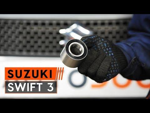 How to replace rear wheel bearing onSUZUKI SWIFT 3[TUTORIAL AUTODOC]