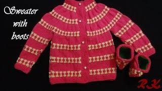 d0bdb80c30d94 woolen sweater designs  - rose pattern sweater design - ideas for ...