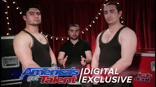 Azeri Brothers bring their danger act to AGT - America's Got Talent 2017