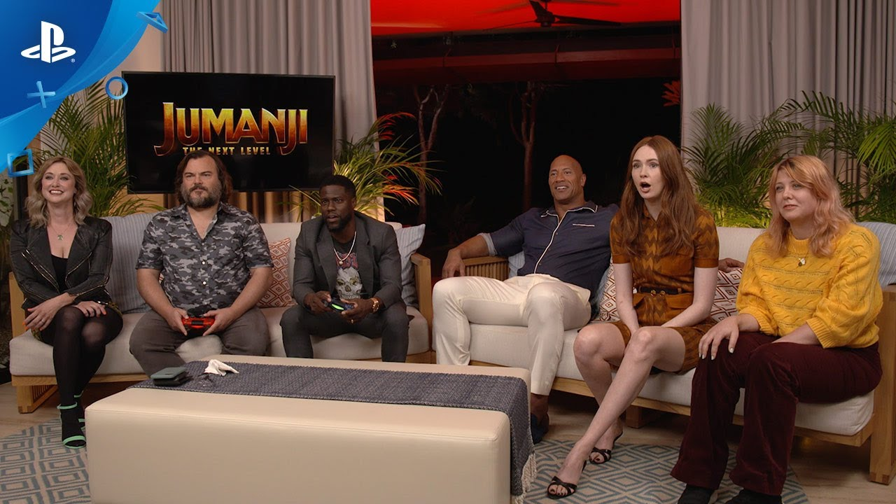 Jumanji: The Next Level and Dreams - Gameplay   PS4